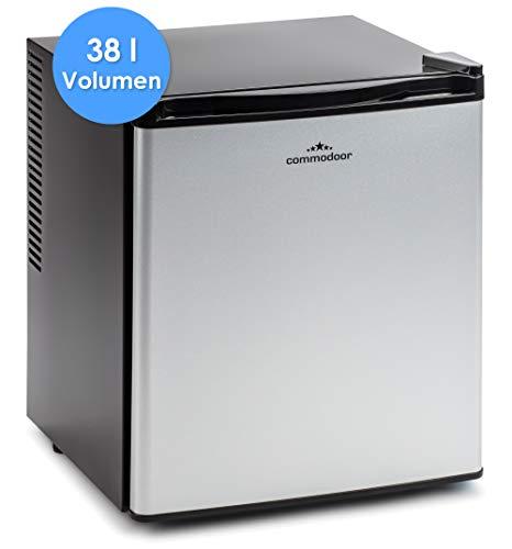 Commodoor Mini-Kühlschrank 60W I Kleiner Kühlschrank 38 Liter I Minikühlschrank Leise I Kühlschrank Klein 179 kWh/Jahr I Mini-Fridge I kleiner Kühlschrank ohne Gefrierfach I umweltfreundlich