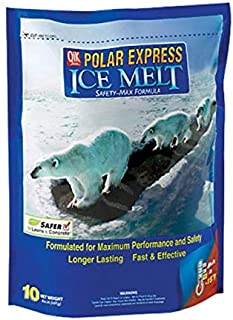 Polar Express Ice Melt Works Effectively Down To -15 Degrees Bagged 10 Lbs.