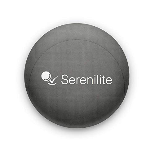 Serenilite Hand Therapy Stress Ball  Optimal Stress Relief  Great for Hand Exercises and Strengthening Titanium