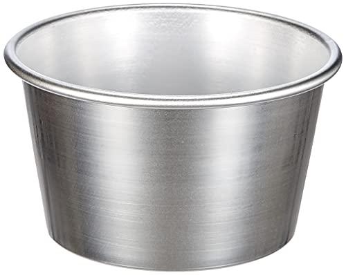 Pentole Agnelli Backform für Pannetone, konisch, aus Aluminium, Silber 20 cm Silber/schwarz