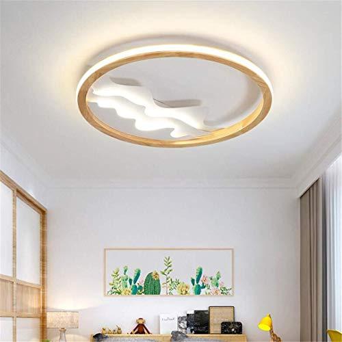 GD1 plafondlamp Scandinavische minimalistische houten slaapkamer lamp creatieve warme kunst studielamp moderne eenvoudige Europese stijl huiskamer lamp