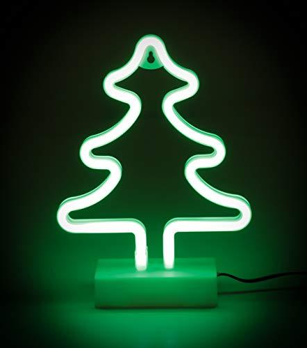 Weihnachtsbaum, LED Neon Weihnachtsbeleuchtung, 12V 24V, Auto, LKW oder Wohnmobil