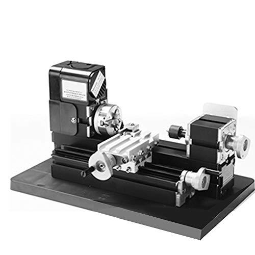 6in1 ミニ旋盤 精密ミニ卓上旋盤 ト24W 110-240V 20000 rpm 20000 rpm 家族や学校の子供たちがモデルやその他の木工モデルを作成するのに適用