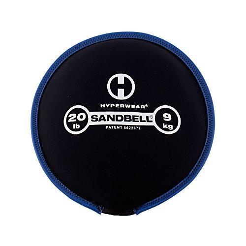 Hyperwear SandBell Sandbag Training Free Weight (Pre-Filled) (20)