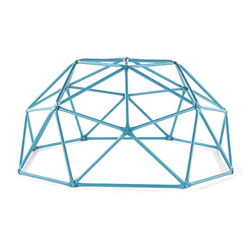 Plum Deimos Climbing Dome - Fun Geometric Children's Dome Climber - Perfect Kids Playground Addition - Teal Color, 75-inch (PLM.029)