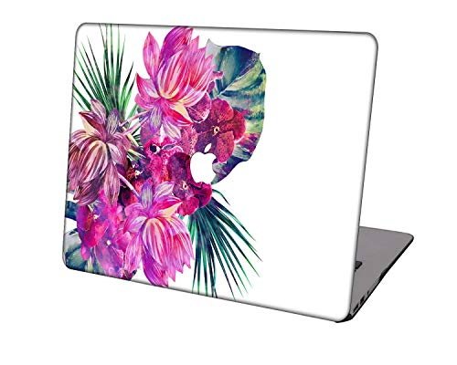 Laptop Case for Newest MacBook Pro 15 inch Model A1707/A1990,Neo-wows Plastic Ultra Slim Light Hard Shell Cover Compatible Macbook Pro 15 inch,Flowers 97