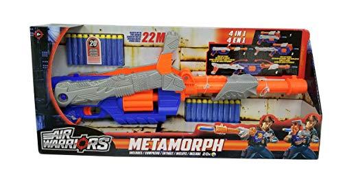 Buzz Bee Air Warriors Metamorph - 4-in-1 Metamorphosis Action Dartblaster