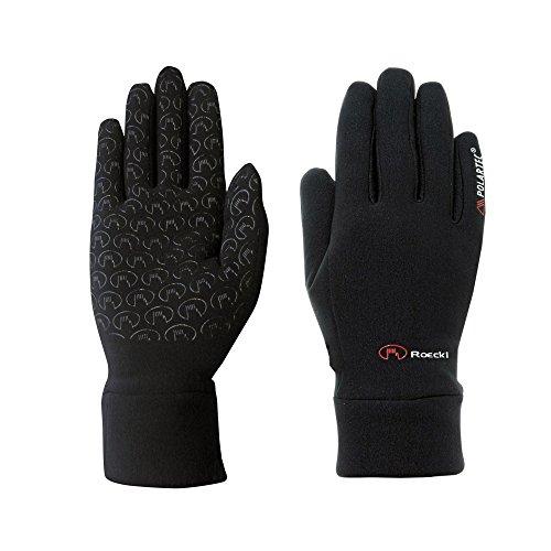 Roeckl Sports Handschuhe Kasa, Outdoor Multisport, PolartecPowerStretch, Schwarz, 7