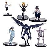 Aolongjs Toppers para Tartas Anime 6pcs / Set 6-24cm Modelo de PVC Muñecas Juguetes (Color : Purple)