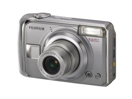 Fujifilm FinePix A900 Digitale Kompaktkamera 9 Megapixel, LCD 2,5 Zoll Silber
