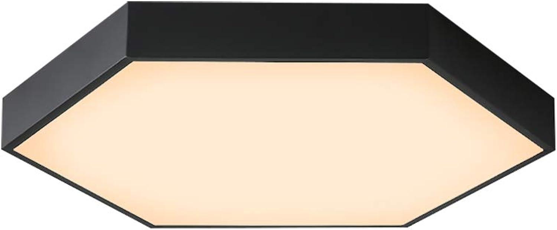 EbuyChX JX277-36W - WW Warm Weiß Deckenleuchte AC 220V SCHWARZ