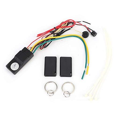 KIMISS Dispositivo antifurto, immobilizzatore wireless Blocco motore auto Anti-dirottamento Allarme auto intelligente auto