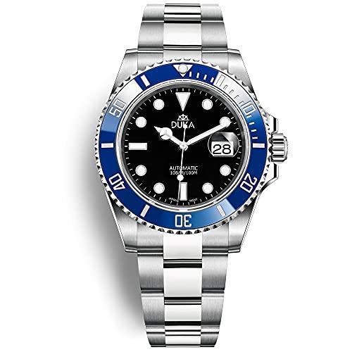 Orologio automatico DUKA orologio sportivo da uomo orologio meccanico in acciaio inossidabile vetro zaffiro specchio impermeabile 100M orologio da uomo Giappone NH35A 24 gioielli…