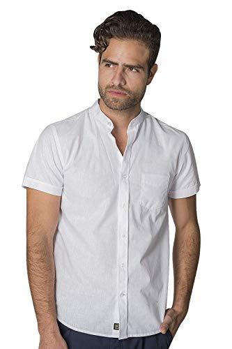 Camisa Cuello Mao marca Bobois