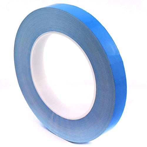 ToToT 1-Roll 25M Transfer Tape Double Side Thermal Conductive Adhesive Tape for Chip PCB LED Strip Heatsink 10mm Width 0.2mm Thickness