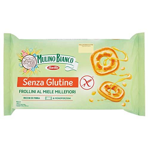 Mulino Bianco Biscotti Frollini senza Glutine al Miele Gluten Free, 250g