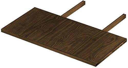 B.R.A.S.I.L.-Möbel Brasilmöbel Ansteckplatte 50x100 Eiche antik Rio Classiko oder Rio Kanto - Pinie Tischverlängerung Echtholz - Größe & Farbe wählbar - für Esszimmertisch Holztisch Tisch ausziehbar