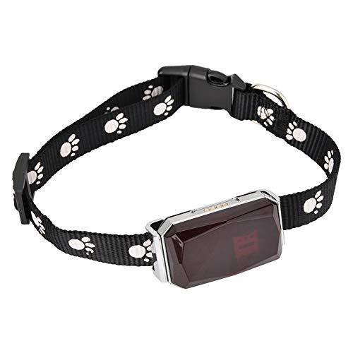 Tosuny GPS Collar para Perros GPS Rastreador de Perros Bluetooth Rastreador de Gatos a Prueba de Agua Buscador de Mascotas Rastreador Adecuado para Mascotas Grandes, Medianas y pequeñas