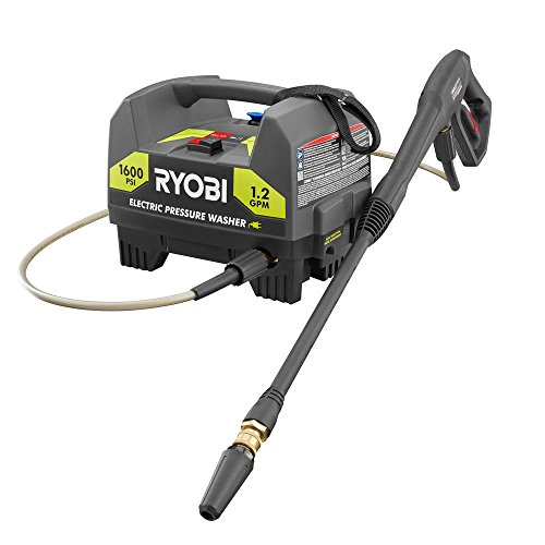 Ryobi 1,600 PSI 1.2 GPM Electric Pressure Washer - (Bulk Packaged, Non-Retail Packaging)