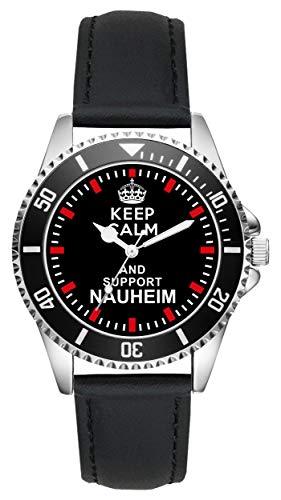 Bad Nauheim Geschenk Artikel Idee Fan Uhr L-2081
