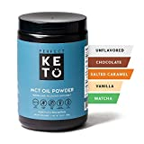 Perfect Keto MCT Oil C8 Powder, Coconut Medium Chain Triglycerides for Pure Clean Energy, Ketogenic...