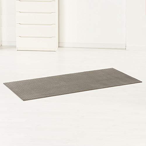 maxVitalis Unterlegmatte für Fitnessgeräte | Schutz vor Druckstellen und Kratzern | Individuell zuschneidbar | 130 x 70 cm