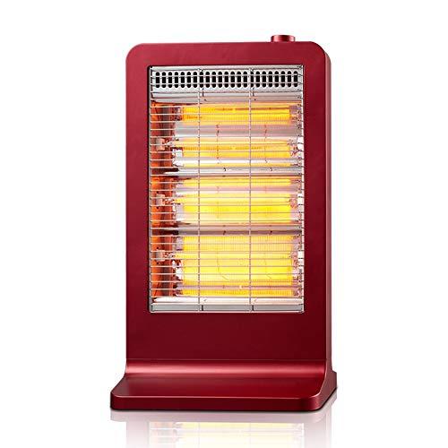 GYH chauffe-eau LJHA Radiateur, économiseur d'énergie muet en Fibre de Carbone Infrarouge lointain à Double Usage pour Salle de Bains (Couleur : Red)
