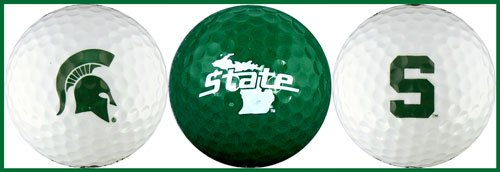 Lowest Prices! EnjoyLife Inc Michigan State University Golf Ball Gift Set