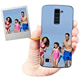 Coverpersonalizzate.it Coque Personnalisable pour LG K10 avec ta Photo, Image ou Inscription. Étui...