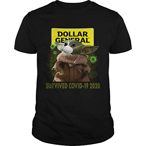 dailysteals Baby Y.oda Dollar General Survived C.Ovid 19 2020 Shirt for Men and Women.