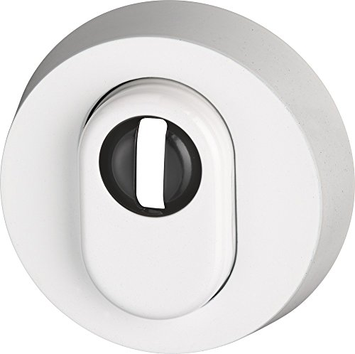 ABUS Schutzrosette mit Zylinderschutz RHZS415 W für Holztüren weiß 05703