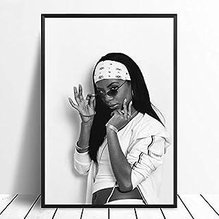 Aaliyah Poster, Aaliyah Wall Print, Aaliyah Wall Art, Aaliyah Wall Decor, Aaliyah Gifts, Aaliyah Canvas Print, Music Star Poster