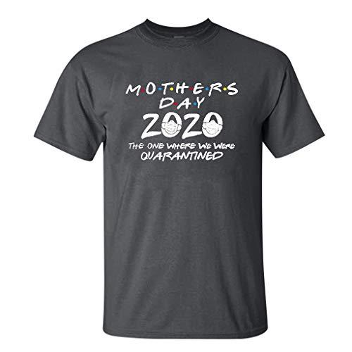 Sylar Día de La Madre Camisetas Manga Corta para Mujer Bás