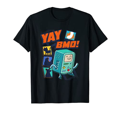 Cartoon Network Adventure Time Yay BMO T-Shirt