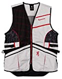 Browning Ace Shooting Vest Black/Red (XL)
