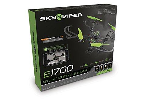 Goliath 90290 - Sky Viper STEM Drohne, Quadrocopter Bausatz Do it yourself DIY, Automatische Start-, Lande- und Schwebefunktion, 2,4 GHz, Stabilisationssystem, Einsteiger und Profi-Modus, ab 12 Jahren