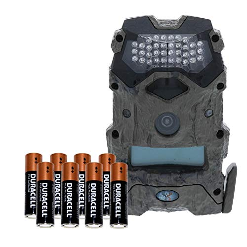 Wildgame Innovations Mirage 16 16MP Water-Resistant Hunting Game Trail Camera & Batteries - HD Photos and 720p Video Recording