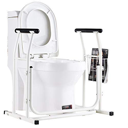 ALY® Wc Armlehne/Aufstehhilfe Medizinische Toiletten, Rutschfester Handlauf FüR Badezimmer, Robuster Stahlrahmen, Freistehender ToilettenstäNder FüR äLtere Und Behinderte Menschen