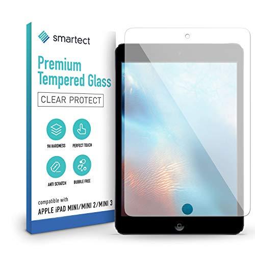 smartect Schutzglas kompatibel mit Apple iPad mini/mini 2 / mini 3 - Tempered Glass mit 9H Festigkeit - Blasenfreie Schutzfolie - Anti-Kratzer Bildschirmschutzfolie