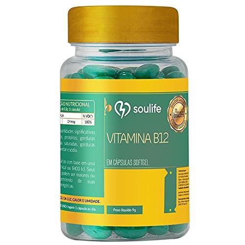 Vitamina B12 - 150 cápsulas - Soulife