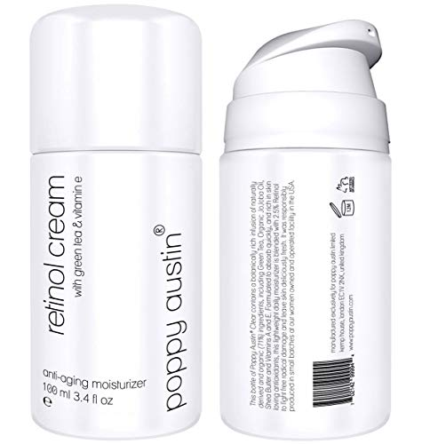 Poppy Austin Retinol Cream with Green Tea & Vitamin E