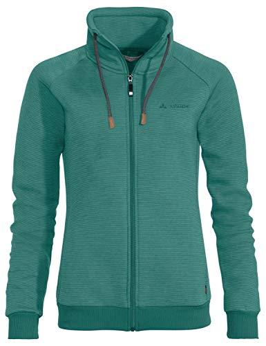 VAUDE Womens Torone Jacket II, 38 Damen, Nickel Green