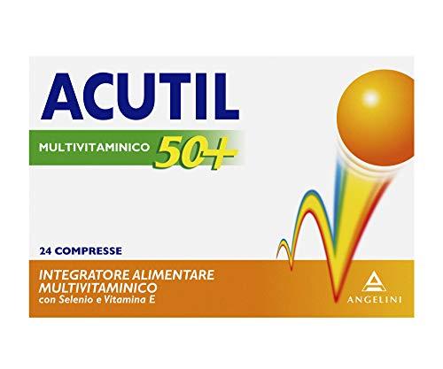 Acutil Multivitaminico 50+, 24 Compresse - 30.48 g