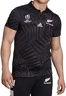 RWC2019ラグビー ワールドカップ 2019 公式ライセンス品 オールブラックス ジャージ Mサイズ限定品 QC162