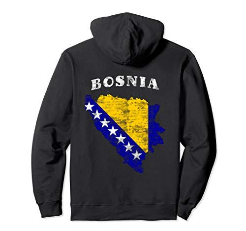 Bosnien und Herzegowina Flagge Bosnisch Pullover Hoodie