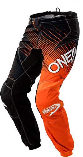O'NEAL Element Racewear Youth Kinder MX DH MTB Pant Hose lang schwarz/orange 2018 Oneal: Größe: 22 (98-116)