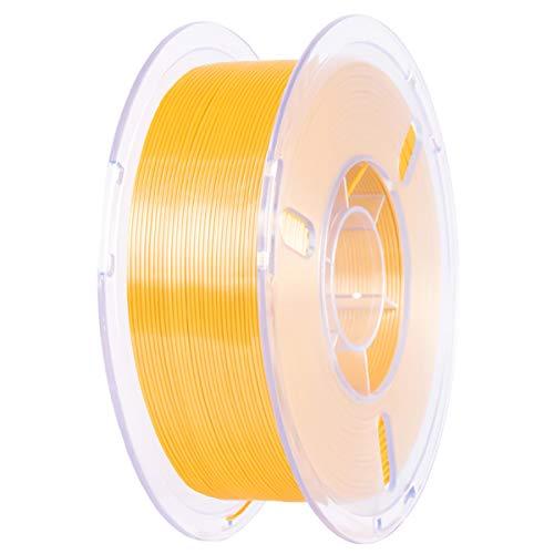 VOMI PLA+ Filament 1,75mm PLA Plus 3D Drucker Filament Gold Filament-3D-Druck für 3D Drucker oder 3D Stift, 1KG Spule (2,2 LBS) | 1,75 +/- 0,02mm | Verwicklung frei | Vakuumverpackung