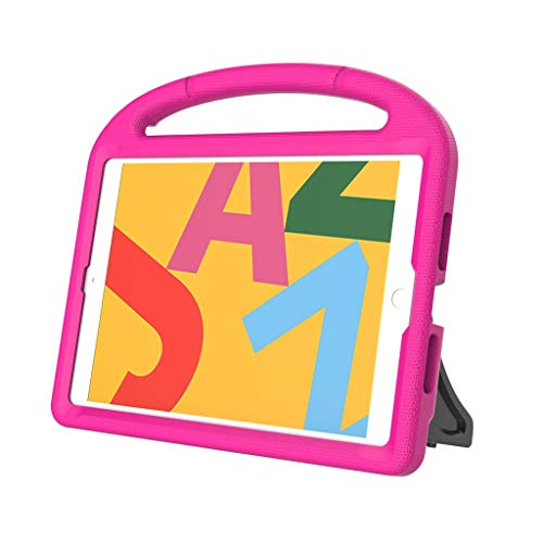 JSxhisxnuid kinderhoes voor iPad 10.2 7th 2019, Eva stootvast licht beschermend kinderhoes cabrio handvat standaard afdekking voor iPad 10.2 7th 2019