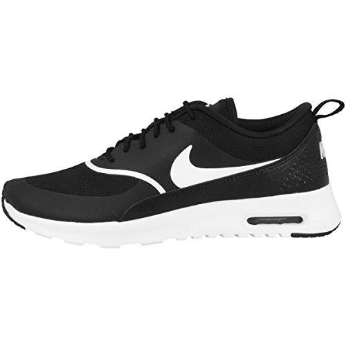 Nike Wmns Air Max Thea, Scarpe Stringate Derby Donna, Nero (Black/White 028), 36 EU