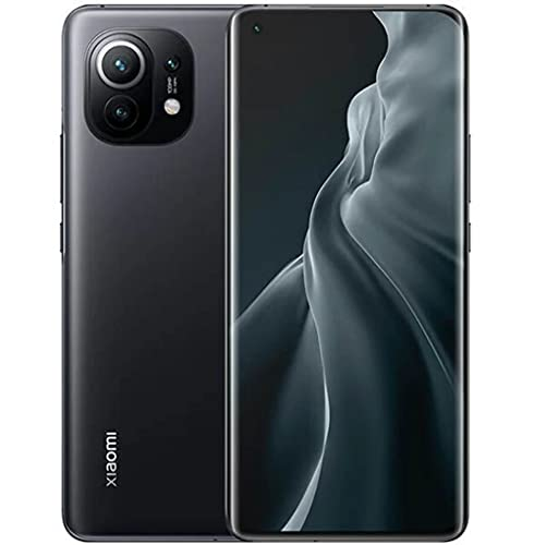 "Xiaomi Mi 11 5G Smartphone 8 GB + 256 GB, Display WQHD+ AMOLED da 6.81"" Curvo sui Quattro Lati, Qualcomm Snapdragon 888, Tripla Fotocamera 108MP + 13MP + 5MP, Batteria da 46000mAh, NFC, Gray"